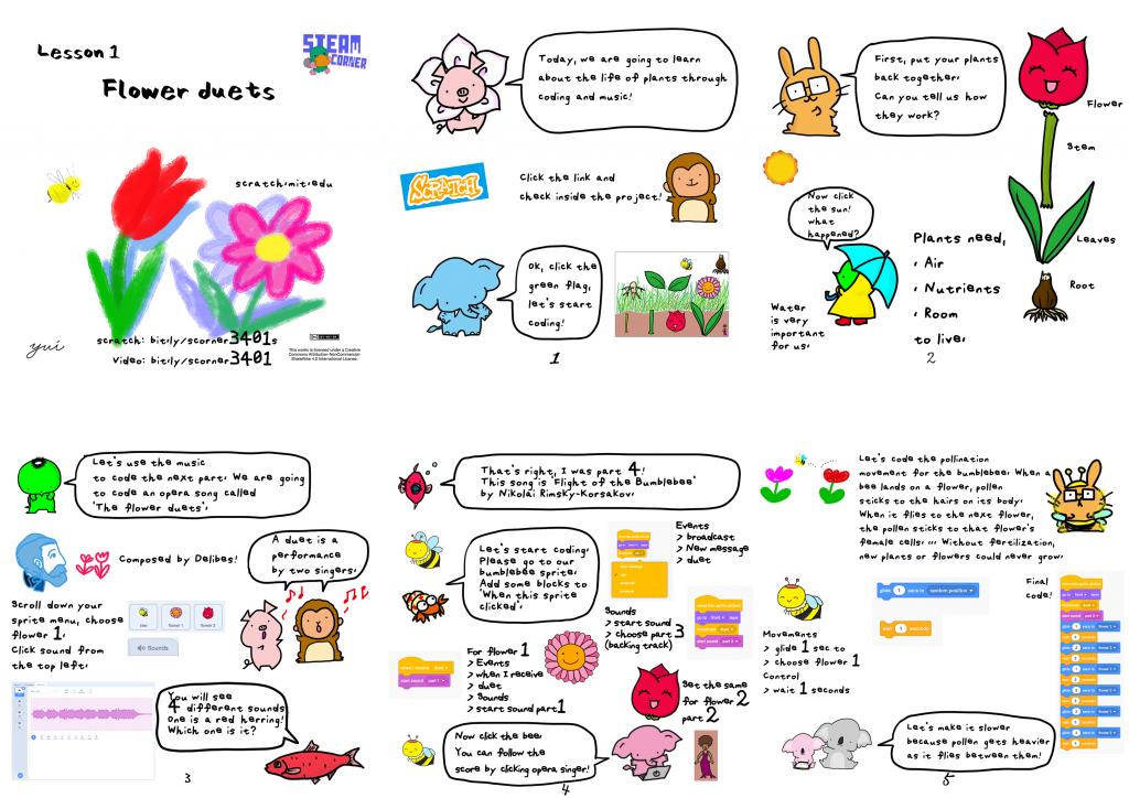 Flower Duets Homework